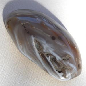 Enhydro Agate Palmstone Specimen