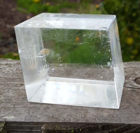Large Specimen Optical Calcite Icelandic Spar