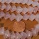 Rose Quartz Diamond Beads