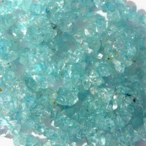 Aquamarine blue chip beads