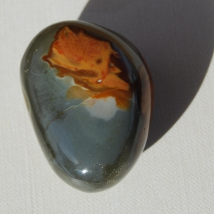 Polychrome Jasper Palm Stone Meditation